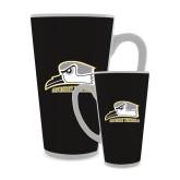 Full Color Latte Mug 17oz-Athletic Logo