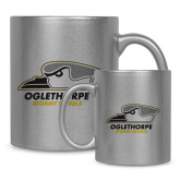 Full Color Silver Metallic Mug 11oz-Primary Athletics Logo