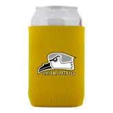 Collapsible Gold Can Holder-Athletic Logo