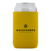 Neoprene Gold Can Holder-Primary University Logo