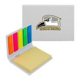Micro Sticky Book-Athletic Logo