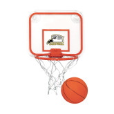 Mini Basketball & Hoop Set-Athletic Logo