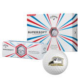 Callaway Supersoft Golf Balls 12/pkg-Athletic Logo