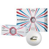 Callaway Supersoft Golf Balls 12/pkg-Primary Athletics Logo