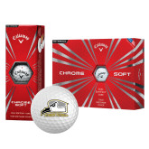 Callaway Chrome Soft Golf Balls 12/pkg-Athletic Logo
