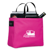 Tropical Pink Essential Tote-Athletic Logo