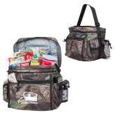Big Buck Camo Sport Cooler-Athletic Logo
