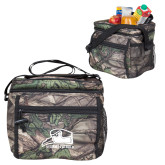 Big Buck Camo Junior Sport Cooler-Athletic Logo