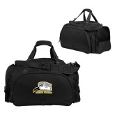 Challenger Team Black Sport Bag-Athletic Logo