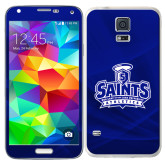 Galaxy S5 Skin-Our Lady of the Lake University Athletics - Offical Logo