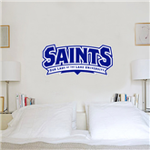 2 ft x 6 ft Fan WallSkinz-Saints - Our lady of the Lake University