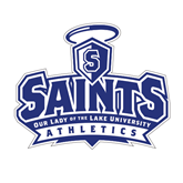 Medium Decal-Our Lady of the Lake University Athletics - Offical Logo, 8 inches wide