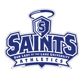 Large Decal-Our Lady of the Lake University Athletics - Offical Logo, 12 inches wide