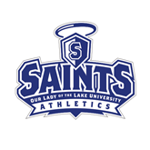 Small Decal-Our Lady of the Lake University Athletics - Offical Logo, 6 inches wide