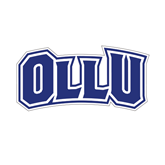 Small Decal-OLLU, 6 inches wide