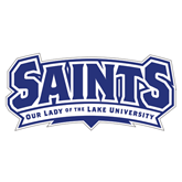 Extra Large Decal-Saints - Our lady of the Lake University, 18 inches wide