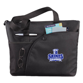 Excel Black Sport Utility Tote-Our Lady of the Lake University Athletics - Offical Logo