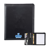 Carbon Fiber Tech Padfolio-Our Lady of the Lake University Athletics - Offical Logo