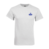 White T Shirt-Our Lady of the Lake University Athletics - Offical Logo