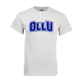 White T Shirt-OLLU