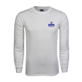 White Long Sleeve T Shirt-Our Lady of the Lake University Athletics - Offical Logo