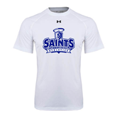 Under Armour White Tech Tee-Our Lady of the Lake University Athletics - Offical Logo