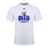 Under Armour White Tech Tee-OLLU Saints