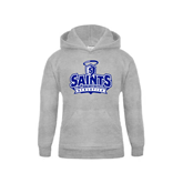 Youth Grey Fleece Hood-Our Lady of the Lake University Athletics - Offical Logo