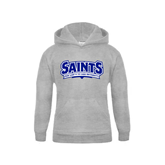 Youth Grey Fleece Hood-Saints - Our lady of the Lake University