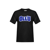 Youth Black T Shirt-OLLU