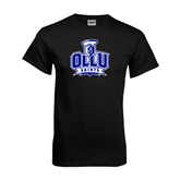 Black T Shirt-OLLU Saints