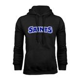 Black Fleece Hoodie-Saints