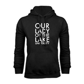 Black Fleece Hoodie-Our Lady of the Lake Stacked