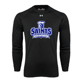 Under Armour Black Long Sleeve Tech Tee-Our Lady of the Lake University Athletics - Offical Logo