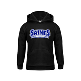 Youth Black Fleece Hoodie-Saints - Our lady of the Lake University