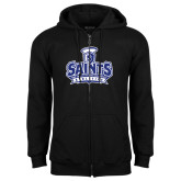 Black Fleece Full Zip Hoodie-Our Lady of the Lake University Athletics - Offical Logo