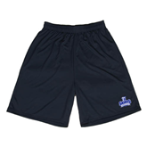 Performance Classic Black 9 Inch Short-Our Lady of the Lake University Athletics - Offical Logo