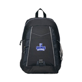 Impulse Black Backpack-Our Lady of the Lake University Athletics - Offical Logo