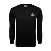 Black Long Sleeve TShirt-Our Lady of the Lake University Athletics - Offical Logo