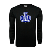 Black Long Sleeve TShirt-OLLU Saints