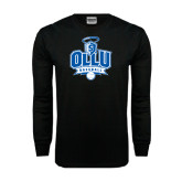Black Long Sleeve TShirt-Baseball