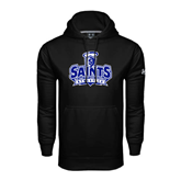 Under Armour Black Performance Sweats Team Hoodie-Our Lady of the Lake University Athletics - Offical Logo
