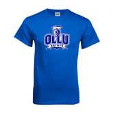 Royal T Shirt-OLLU Saints