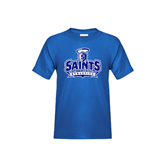 Youth Royal T Shirt-Our Lady of the Lake University Athletics - Offical Logo