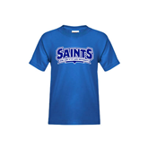 Youth Royal T Shirt-Saints - Our lady of the Lake University