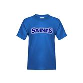 Youth Royal T Shirt-Saints