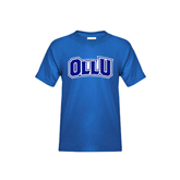 Youth Royal T Shirt-OLLU