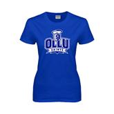 Ladies Royal T Shirt-OLLU Saints