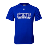 Under Armour Royal Tech Tee-Saints - Our lady of the Lake University