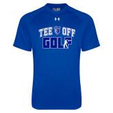 Under Armour Royal Tech Tee-Tee Off Golf Design